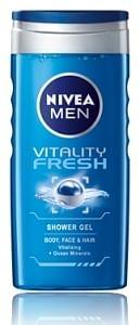 Aanbiedingen Men douche vitality fresh - Nivea - Geldig van 23/10/2021 tot 06/11/2021 bij Gezondmarkt