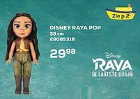 Aanbiedingen Disney raya pop - Jakks Pacific - Geldig van 22/10/2021 tot 07/12/2021 bij Supra Bazar