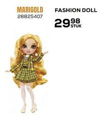 Aanbiedingen Fashion doll marigold - Rainbow High - Geldig van 22/10/2021 tot 07/12/2021 bij Supra Bazar