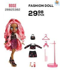 Aanbiedingen Fashion doll rose - Rainbow High - Geldig van 22/10/2021 tot 07/12/2021 bij Supra Bazar