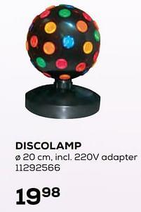 Aanbiedingen Discolamp - Huismerk - Supra Bazar - Geldig van 22/10/2021 tot 07/12/2021 bij Supra Bazar