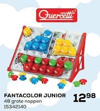 Aanbiedingen Fantacolor junior - Quercetti - Geldig van 22/10/2021 tot 07/12/2021 bij Supra Bazar