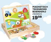 Aanbiedingen Magnetisch tekenbord boerderij - Huismerk - Supra Bazar - Geldig van 22/10/2021 tot 07/12/2021 bij Supra Bazar