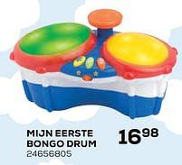 Aanbiedingen Mijn eerste bongo drum - Hap P Kid - Geldig van 22/10/2021 tot 07/12/2021 bij Supra Bazar