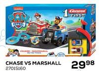 Aanbiedingen Chase vs marshall - Carrera - Geldig van 22/10/2021 tot 07/12/2021 bij Supra Bazar