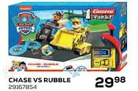 Aanbiedingen Chase vs rubble - Carrera - Geldig van 22/10/2021 tot 07/12/2021 bij Supra Bazar