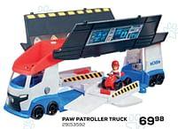 Aanbiedingen Paw patroller truck - PAW  PATROL - Geldig van 22/10/2021 tot 07/12/2021 bij Supra Bazar