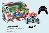 Aanbiedingen Mario kart - Carrera - Geldig van 22/10/2021 tot 07/12/2021 bij Supra Bazar
