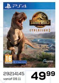Aanbiedingen Jurassic world evolution 2 - Frontier - Geldig van 22/10/2021 tot 07/12/2021 bij Supra Bazar