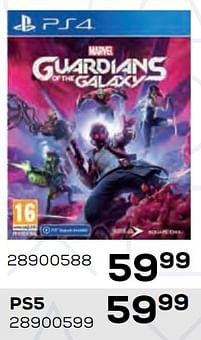 Aanbiedingen Marvel guardians of the galaxy - Square Enix - Geldig van 22/10/2021 tot 07/12/2021 bij Supra Bazar