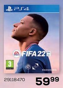 Aanbiedingen Ps4 fifa 22 - Electronic Arts - Geldig van 22/10/2021 tot 07/12/2021 bij Supra Bazar