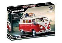 Aanbiedingen 70176 Volkswagen T1 Campingbus - Playmobil - Geldig van 12/04/2021 tot 26/04/2021 bij Toychamp