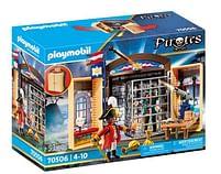 Aanbiedingen 70506 Speelbox Piratenavontuur - Playmobil - Geldig van 12/04/2021 tot 26/04/2021 bij Toychamp