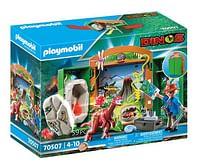 Aanbiedingen 70507 Speelbox Dino-onderzoeker - Playmobil - Geldig van 12/04/2021 tot 26/04/2021 bij Toychamp