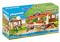 Aanbiedingen 70510 Ponykamp aanhanger - Playmobil - Geldig van 12/04/2021 tot 26/04/2021 bij Toychamp