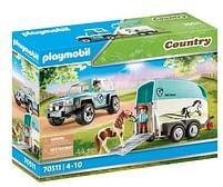 Aanbiedingen 70511 Auto met aanhanger - Playmobil - Geldig van 12/04/2021 tot 26/04/2021 bij Toychamp