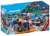 Aanbiedingen 70556 Pirateneiland met schuilplaats voor schatten - Playmobil - Geldig van 12/04/2021 tot 26/04/2021 bij Toychamp
