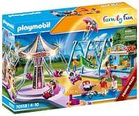 Aanbiedingen 70558 Groot pretpark - Playmobil - Geldig van 12/04/2021 tot 26/04/2021 bij Toychamp