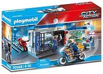 Aanbiedingen 70568 Politie Ontsnapping uit de gevangenis - Playmobil - Geldig van 12/04/2021 tot 26/04/2021 bij Toychamp