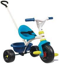 Aanbiedingen Be Fun driewieler blauw - Smoby - Geldig van 12/04/2021 tot 26/04/2021 bij Toychamp