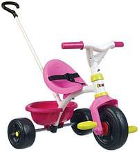 Aanbiedingen Be Fun driewieler pink - Smoby - Geldig van 12/04/2021 tot 26/04/2021 bij Toychamp