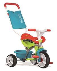 Aanbiedingen Be Move Confort driewieler blauw - Smoby - Geldig van 12/04/2021 tot 26/04/2021 bij Toychamp