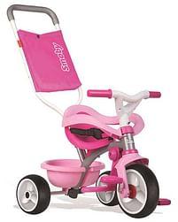 Aanbiedingen Be Move Confort driewieler pink - Smoby - Geldig van 12/04/2021 tot 26/04/2021 bij Toychamp