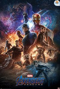 Aanbiedingen Avengers Endgame From The Ashes - Maxi Poster (726) -  - Geldig van 21/05/2021 tot 26/06/2021 bij Expo XL