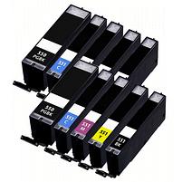 Aanbiedingen Compatible 2x Canon PGI-550 + CLI-551 XL inktcartridges voordeelbundel (5set) (inktcartridges) Alleeninkt - Canon - Geldig van 21/05/2021 tot 09/08/2021 bij Alleeninkt