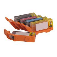 Aanbiedingen Compatible Eetbare inkt canon PGI-550 / CLI-551 inktcartridges voordeelbundel Alleeninkt - Canon - Geldig van 21/05/2021 tot 09/08/2021 bij Alleeninkt