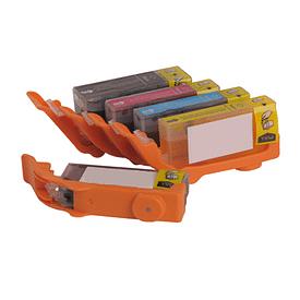Aanbiedingen Compatible Eetbare inkt canon PGI-570 / CLI-571 inktcartridges voordeelbundel Alleeninkt - Canon - Geldig van 21/05/2021 tot 09/08/2021 bij Alleeninkt