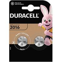 Aanbiedingen Duracell 2016 3V knoopcel Duo-pack -  - Geldig van 21/05/2021 tot 09/08/2021 bij Alleeninkt