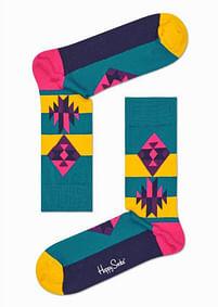Aanbiedingen Happy Socks 10th Anniversary Inca Sokken - Happy Horse - Geldig van 21/05/2021 tot 09/08/2021 bij Expo XL