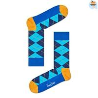 Aanbiedingen Happy Socks Argyle Sokken, Blauw/Geel - Happy Horse - Geldig van 21/05/2021 tot 09/08/2021 bij Expo XL