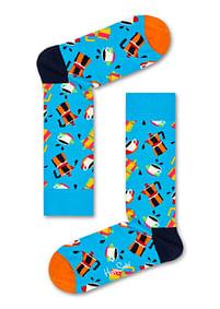 Aanbiedingen Happy Socks Coffee Sokken, Blauw - Happy Horse - Geldig van 21/05/2021 tot 09/08/2021 bij Expo XL
