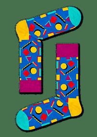 Aanbiedingen Happy Socks Nineties Sokken - Happy Horse - Geldig van 21/05/2021 tot 09/08/2021 bij Expo XL
