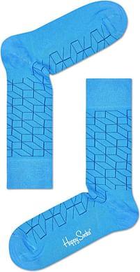 Aanbiedingen Happy Socks Optic Sokken - Lichtblauw - Happy Horse - Geldig van 21/05/2021 tot 09/08/2021 bij Expo XL