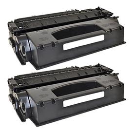 Aanbiedingen Compatible 2x HP 53A (Q7553X) toner zwart (toners) Alleeninkt - HP - Geldig van 21/05/2021 tot 09/08/2021 bij Alleeninkt