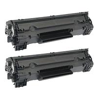 Aanbiedingen Compatible 2x HP 78A (CE278A) toner zwart (toners) Alleeninkt - HP - Geldig van 21/05/2021 tot 09/08/2021 bij Alleeninkt