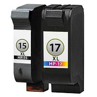 Aanbiedingen Compatible HP 15 XL + 17 XL Multipack (inktcartridges) Alleeninkt - HP - Geldig van 21/05/2021 tot 09/08/2021 bij Alleeninkt