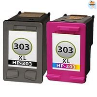 Aanbiedingen Compatible HP 303XL (HT6N04AEPA + HT6N03AEPA) Multipack (inktcartridges) Alleeninkt - HP - Geldig van 21/05/2021 tot 09/08/2021 bij Alleeninkt