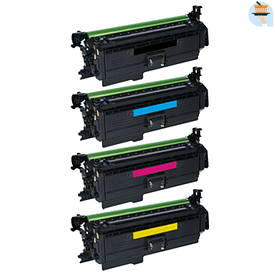Aanbiedingen Compatible HP 654X (CF330X t/m CF333A) voordeelbundel (toners) Alleeninkt -  - Geldig van 21/05/2021 tot 26/06/2021 bij Alleeninkt