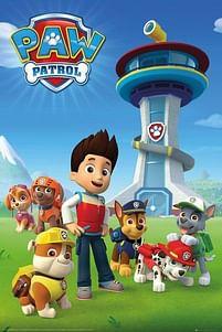 Aanbiedingen Paw Patrol Team - Maxi Poster (C-791) -  - Geldig van 21/05/2021 tot 26/06/2021 bij Expo XL