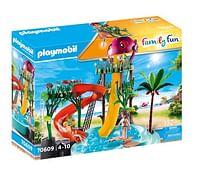 Aanbiedingen 70609 Waterpark met glijbanen - Playmobil - Geldig van 15/06/2021 tot 29/06/2021 bij Toychamp