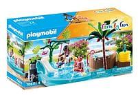 Aanbiedingen 70611 Kinderzwembad met whirlpool - Playmobil - Geldig van 15/06/2021 tot 29/06/2021 bij Toychamp