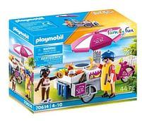 Aanbiedingen 70614 Mobiele crepesverkoop - Playmobil - Geldig van 15/06/2021 tot 29/06/2021 bij Toychamp