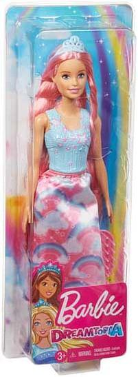 Aanbiedingen Barbie Dreamtopia Prinses met tiara -  - Geldig van 29/07/2021 tot 12/08/2021 bij Toychamp