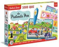 Aanbiedingen De Pratende Pen 1000 Quiz - Clementoni - Geldig van 29/07/2021 tot 12/08/2021 bij Toychamp
