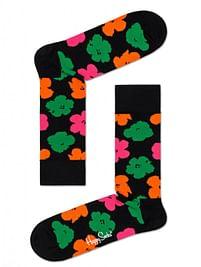 Aanbiedingen Happy Socks x Andy Warhol: Flower, Zwart - Happy Girl - Geldig van 15/08/2021 tot 23/10/2021 bij Expo XL