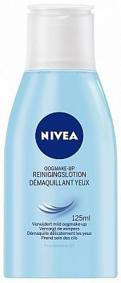 Aanbiedingen Nivea Oogmake-Up Reinigingslotion 125ml - Nivea - Geldig van 15/08/2021 tot 03/11/2021 bij Drogisterij.net